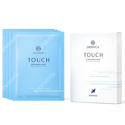 Orphica Touch - Moisturizing Gloves Rękawiczki nawilżające 4 pary (1op.)