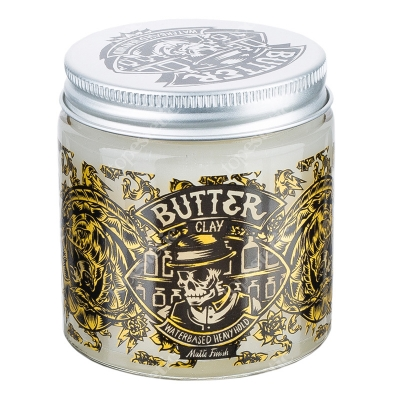 Pan Drwal Butter Pomade Matte Clay Wodna pomada do włosów 120 ml