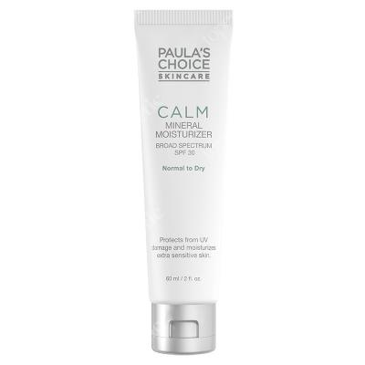 Paulas Choice Calm Mineral Moisturizer SPF 30 Krem nawilżający do skóry normalnej i suchej 60 ml