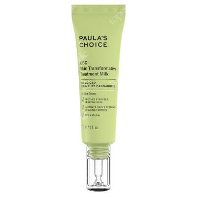 Paulas Choice CBD Skin Transformative Treatment Milk Łagodzące mleczko opóźniające proces starzenia skóry 30 ml