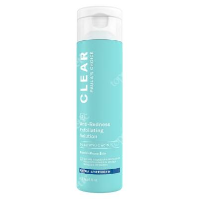 Paulas Choice Clear Anti Redness Exfoliating Solution Extra Strenght Kuracja złuszczająca do skóry trądzikowej 2% BHA 118 ml