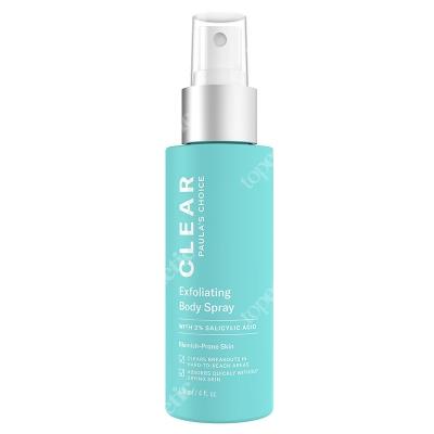Paulas Choice Clear Exfoliating Body Spray Płyn złuszczający do ciała 2% BHA 118 ml