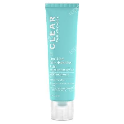 Paulas Choice Clear Ultra Light Daily Hydrating Fluid SPF 30 Krem nawilżający do skóry tłustej i trądzikowej 60 ml