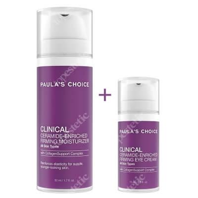 Paulas Choice Clinical Ceramide Set ZESTAW Odżywczy i ujędrniający krem z ceramidami pod oczy 15 ml + Odżywczy i ujędrniający krem do twarzy 50 ml