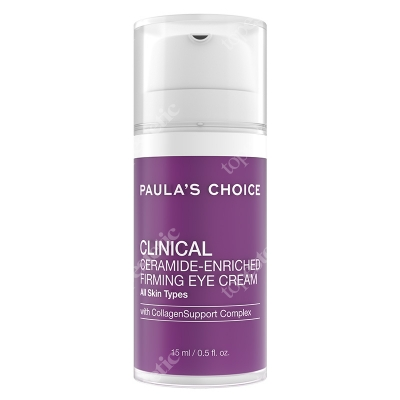 Paulas Choice Clinical Ceramide Enriched Firming Eye Cream Odżywczy i ujędrniający krem z ceramidami pod oczy 15 ml
