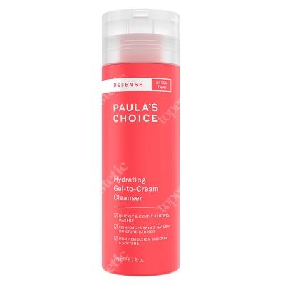 Paulas Choice Defense Hydrating Gel to Cream Cleanser Jedwabisty żel oczyszczający do skóry zmęczonej 198 ml