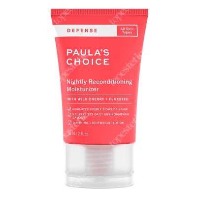 Paulas Choice Defense Nightly Reconditioning Moisturizer Krem na noc wzmacniający blask i oczyszczający skórę60 ml