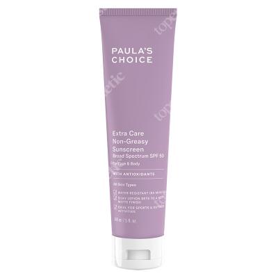 Paulas Choice Extra Care Non Greasy Sunscreen SPF 50 Krem przeciwsłoneczny do skóry tłustej i mieszanej z filtrem 148 ml