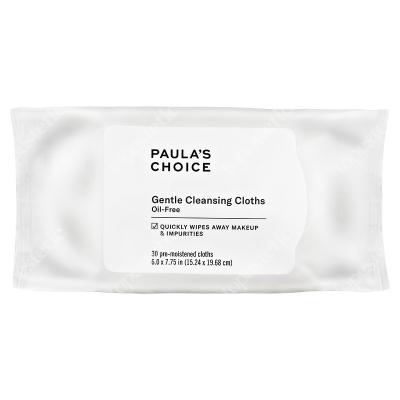 Paulas Choice Gentle Cleansing Cloths Delikatne dla skóry chusteczki do demakijażu 30 szt.