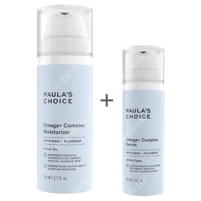 Paulas Choice Omega+ Complex Moisturizer + Resist Omega+ Complex Serum ZESTAW Intensywnie odżywczy krem z kwasami Omega 3,6,9 dla skóry suchej 50 ml + Odżywcze serum do twarzy z kompleksem kwasów Omega 3,6,9, 30 ml