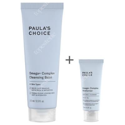 Paulas Choice Omega+ Set ZESTAW Balsam oczyszczający z kwasami Omega 103 ml + Intensywnie odżywczy krem z kwasami Omega dla skóry suchej 15 ml
