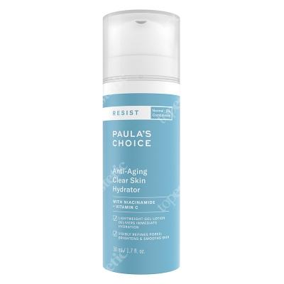 Paulas Choice Resist Anti Aging Clear Skin Hydrator Krem nawilżający na noc do skóry tłustej i mieszanej 10 ml