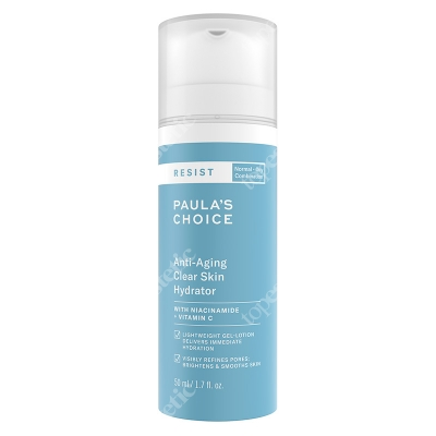 Paulas Choice Resist Anti Aging Clear Skin Hydrator Krem nawilżający na noc do skóry tłustej i mieszanej 50 ml
