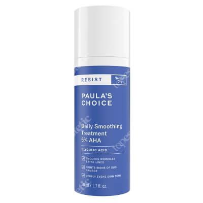 Paulas Choice Resist Daily Smoothing Treatment with 5% AHA Kuracja wygładzająca na dzień do skóry dojrzałej 50 ml