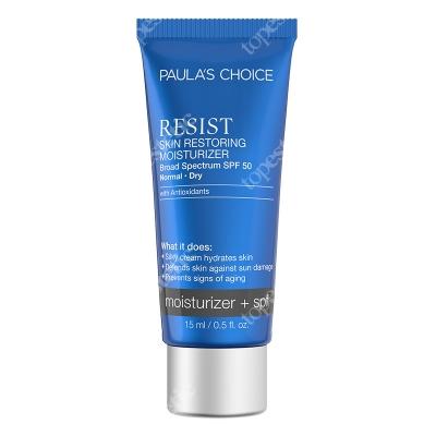 Paulas Choice Resist Skin Restoring Moisturizer SPF 50 Antyoksydacyjny krem przeciwzmarszczkowy z filtrem 15 ml