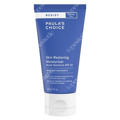 Paulas Choice Resist Skin Restoring Moisturizer SPF 50 Antyoksydacyjny krem przeciwzmarszczkowy z filtrem 60 ml
