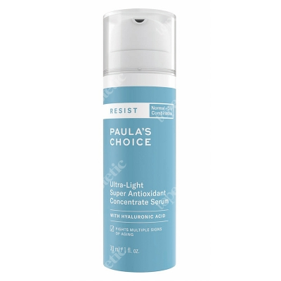 Paulas Choice Resist Ultra Light Super Antioxidant Serum Serum przeciwstarzeniowe z resweratrolem 30 ml