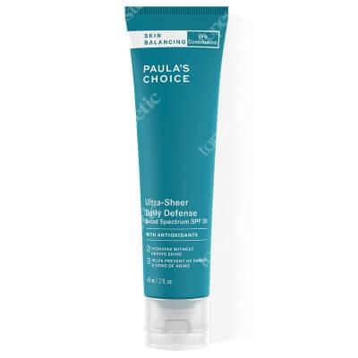 Paulas Choice Skin Balancing Ultra Light Sheer SPF 30 Krem przeciwstarzeniowy dla skóry tłustej i mieszanej 60 ml