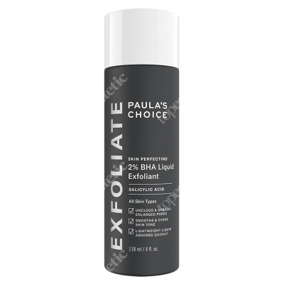 Paulas Choice Skin Perfecting 2% BHA Liquid Płyn eksfoliujący z 2% kwasem salicylowym 30 ml