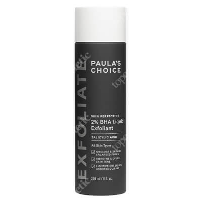 Paulas Choice Skin Perfecting 2% BHA Liquid Płyn złuszczający z 2% kwasem salicylowym 236 ml