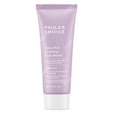 Paulas Choice Ultra Rich Soothing Body Butter Odżywcze masło do ciała z Masłem Shea 113 g