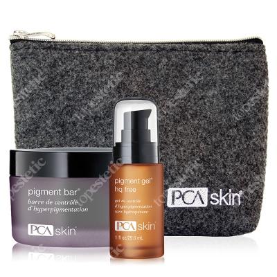 PCA Skin Głębokie Rozjaśnienie ZESTAW Preparat oczyszczająco-rozjaśniający 92.4 ml + Żel / Serum 29.5 ml + Kosmetyczka 1 szt