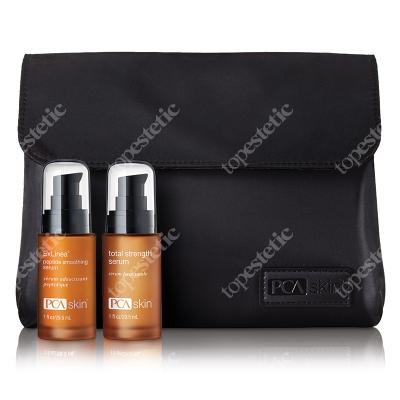 PCA Skin Pca Set ZESTAW Serum z peptydami 29,5 ml + Serum 29.5 ml + Kosmetyczka