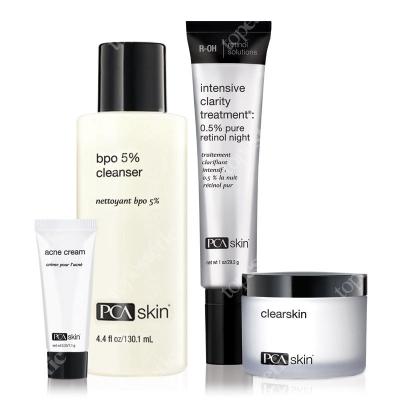 PCA Skin The Acne Control Regimen ZESTAW dla cery trądzikowej, tłustej i mieszanej