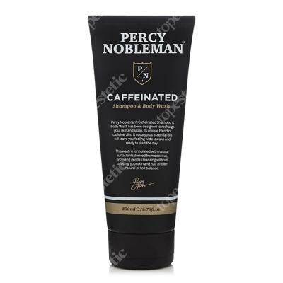 Percy Nobleman Coffeinated Shampoo Body Wash Szampon i żel pod prysznic 200 ml