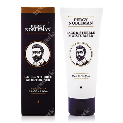 Percy Nobleman Face & Stubble Moisturiser Krem do twarzy i zarostu 75 ml