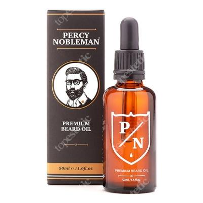 Percy Nobleman Premium Beard Oil Zapachowy olejek do brody 50 ml