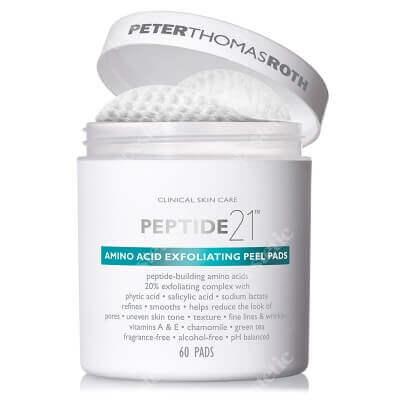 Peter Thomas Roth Amino Acid Exfoliating Peel Pads Płatki złuszczające z aminokwasami 60 szt.