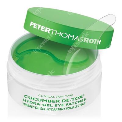 Peter Thomas Roth Cucumber Hydra Gel Eye Patches Hydrożelowe płatki pod oczy z wyciągiem z ogórka 60 szt.