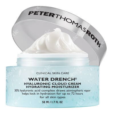 Peter Thomas Roth Hyaluronic Cloud Cream Hydrating Moisturizer Krem nawilżający z kwasem hialuronowym 50 ml