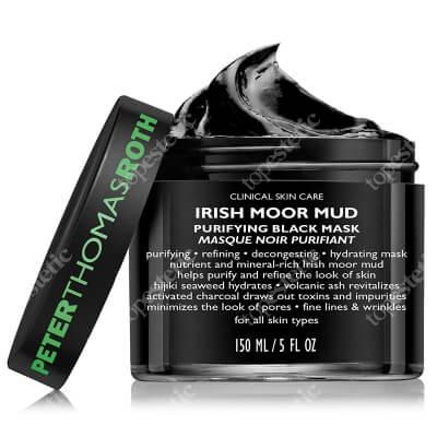 Peter Thomas Roth Irish Moor Mud Mask Czarna maseczka oczyszczająca 150 ml