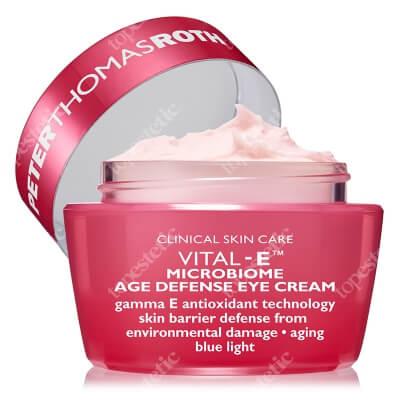 Peter Thomas Roth Vital E Microbiome Age Defense Eye Cream Głęboko odżywczy krem przeciwstarzeniowy pod oczy 15 ml