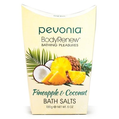 Pevonia Bath Salts Pineapple & Coconut Sole do kąpieli Ananas & Kokos 150 ml
