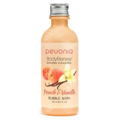 Pevonia Bubble Bath Peach & Vanilla Balsam do kąpieli Peach & Vanilla 180 ml