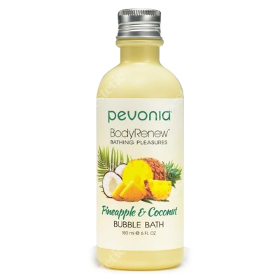 Pevonia Bubble Bath Pineapple & Coconut Balsam do kąpieli Ananas & Kokos 180 ml