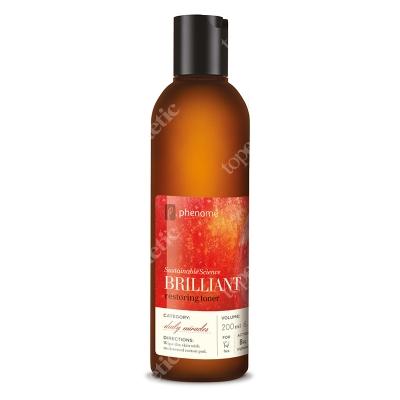 Phenome Brilliant Restoring Toner Tonik o silnych właściwościach rozjaśniających 200 ml