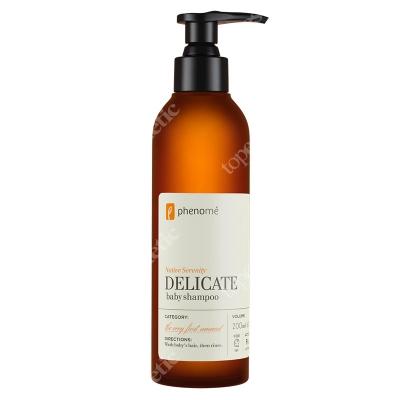 Phenome Delicate Baby Shampoo Delikatny szampon do mycia włosów dla dzieci od 6 miesiąca życia 200 ml