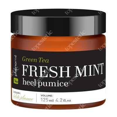 Phenome Fresh Mint Heel Pumice Pumeks do stóp z zieloną herbatą i miętą 125 ml