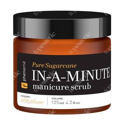 Phenome In a Minute Manicure Scrub Złuszczający scrub do dłoni na bazie naturalnych olejów 125 ml