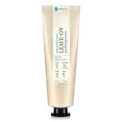 Phenome Leave-On Purifying Cream Krem nawilżający do oczyszczania twarzy 50 ml