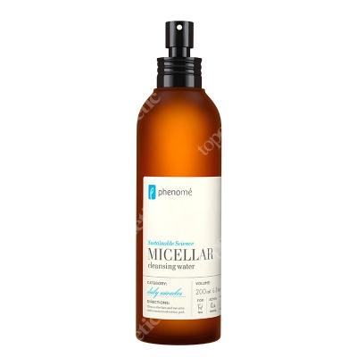 Phenome Micellar Cleansing Water Woda micelarna do demakijażu twarzy, oczu i ust 200 ml