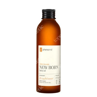 Phenome New Born Baby Oil Nawilżająca oliwka do pielęgnacji wrażliwej skóry dzieci i niemowląt 200 ml