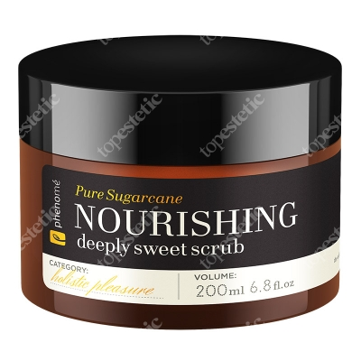 Phenome Nourishing Deeply Sweet Scrub Cukrowy peeling do ciała 200 ml