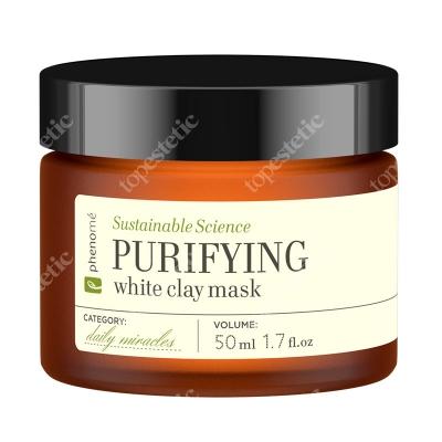 Phenome Purifying White Clay Mask Maseczka oczyszczająca i ściągająca pory 50 ml