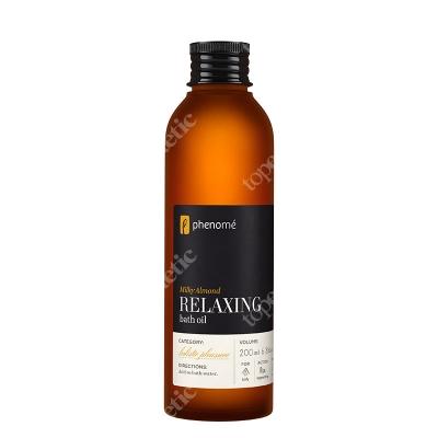 Phenome Relaxing Bath Oil Migdałowa, nawilżająca oliwka do kąpieli 200 ml