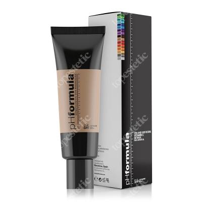 phFormula C.C. Cream SPF 30+ Light Krem barwiony ochronny z retinolem i witaminą C 50 ml